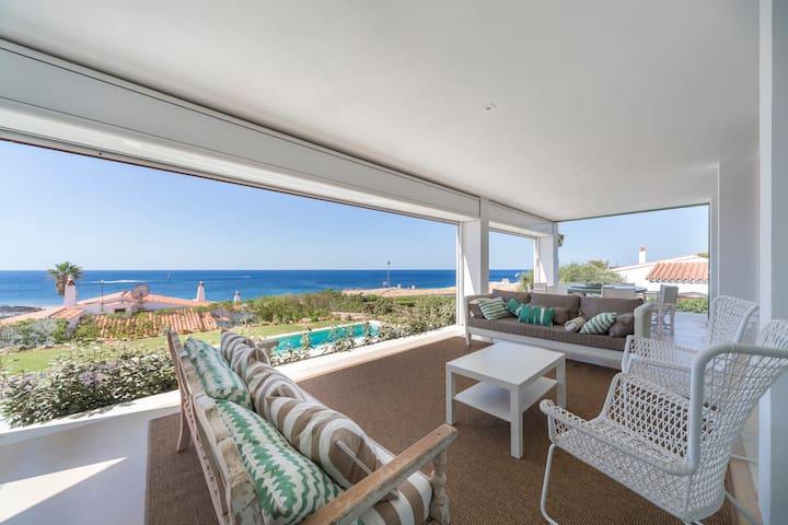 Villa con espectaculares vistas al mar en Menorca - Sant Lluís - Villa