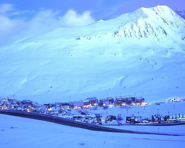 Ski au Pas de la case (Granvallira)