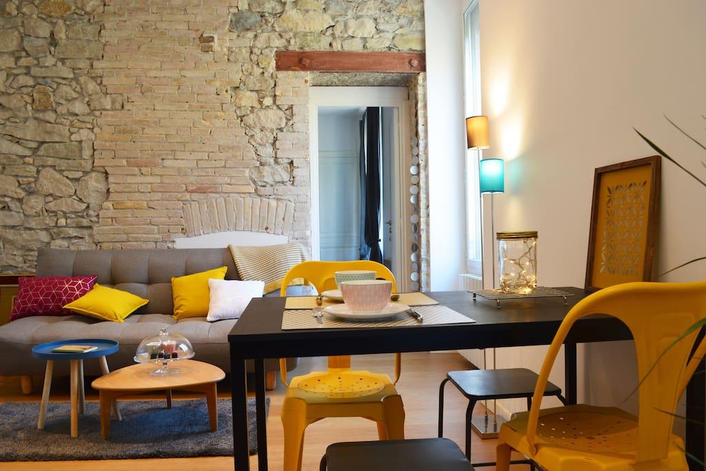 chaleureux t2 lumineux proche centre gare appartements louer grenoble auvergne rh ne. Black Bedroom Furniture Sets. Home Design Ideas
