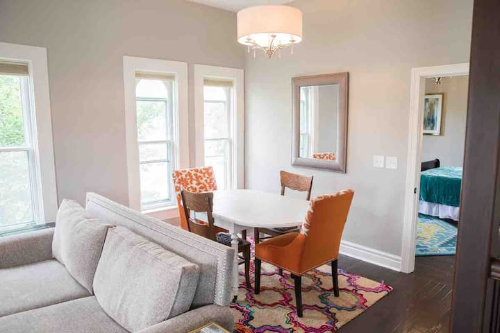 Small Dining Area with a drop-leaf table