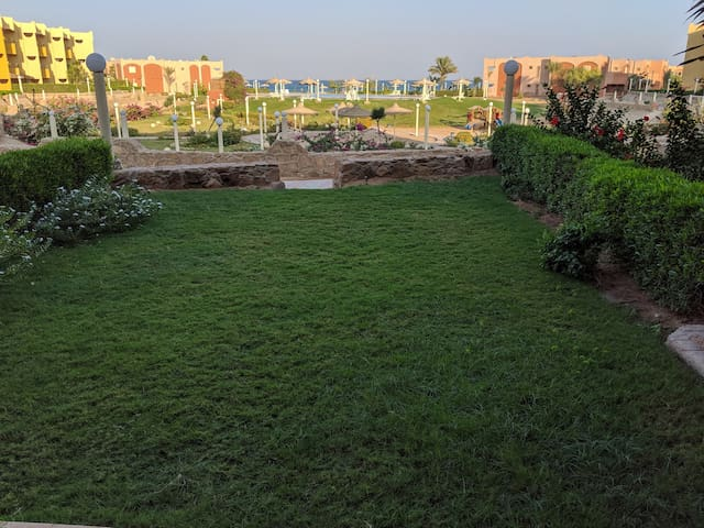 Ain El Sokhna ground floor, with Pool & Sea view
