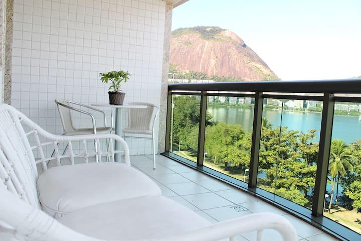 Amazing Lagoon views, perfect location! - Rio de Janeiro - Huoneisto