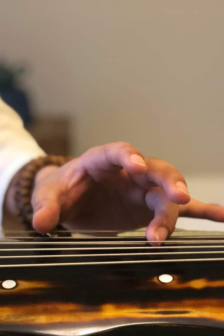 古琴弹奏体验