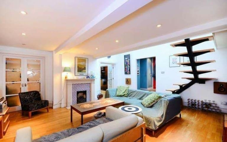 Cosy Double Bedroom in Modern House - London - Hus