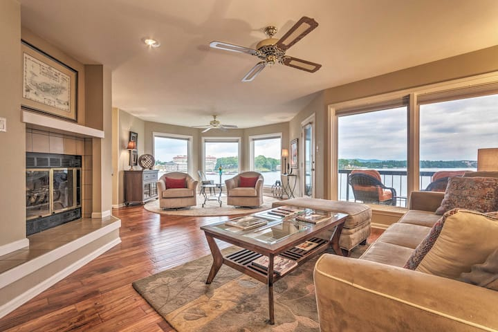 Waterfront Hot Springs Condo w/Pool Access!
