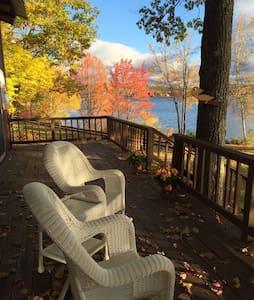 Gorgeous Winnipesaukee Lake House - Laconia - Kabin