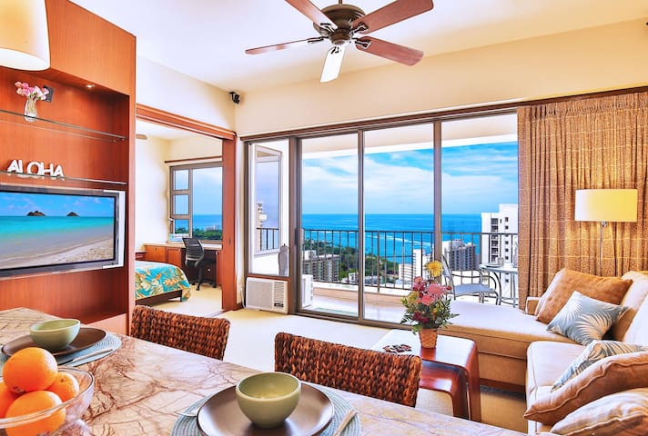 Luxury Penthouse w/ Ocean Views on the 38th Floor