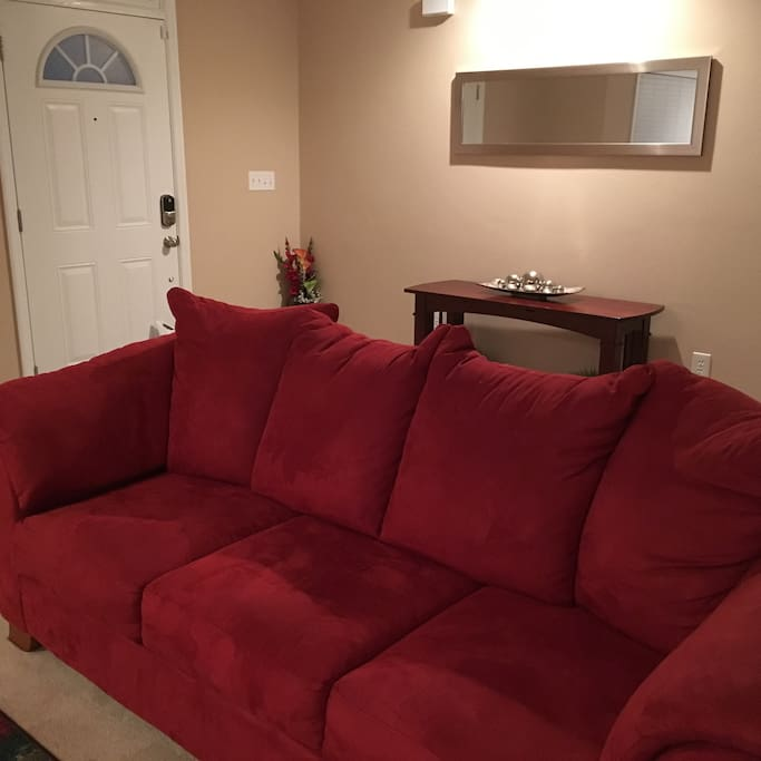 Living Room -- sofa bed