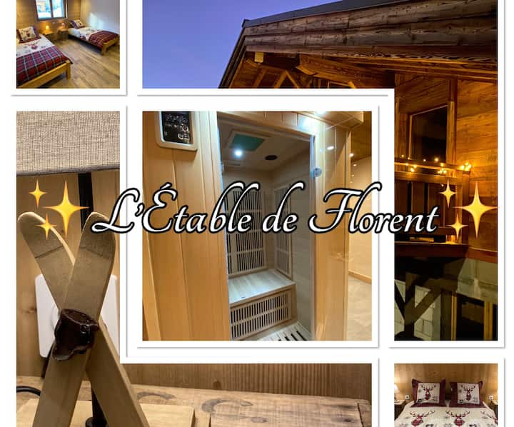 ✨L'Étable de Florent✨ authentique bas de chalet