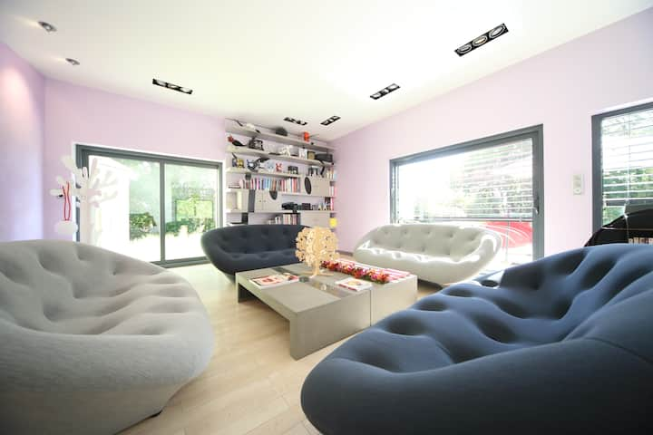 Maison atHOME  - Design PISCINE intérieure pour 8