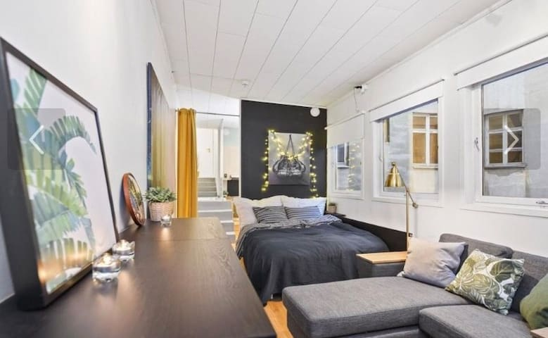 Lovely studio apartment in the centre of Trondheim
