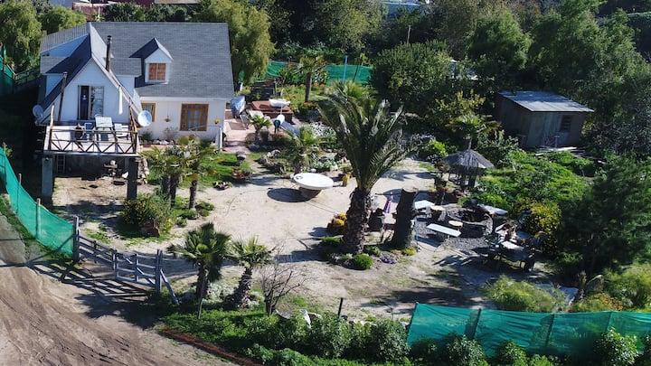 Appartemento con Jacuzzi en el jardin