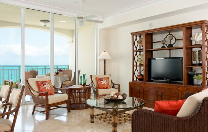 Homely Suite Ocean Front One Bedroom At Grace Bay