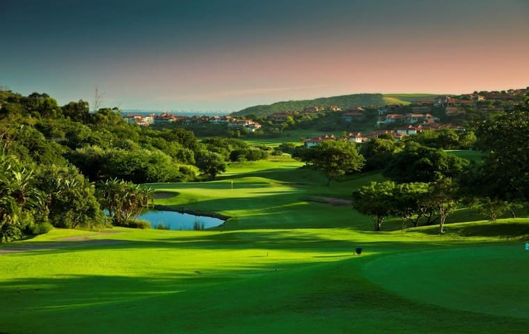 Zimbali world renowned 18 hole golf course