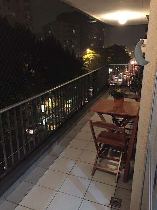 Main balcony / Varandão
