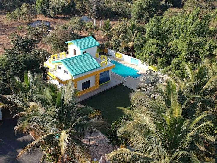 Ameya farm - Villa 1 (inclusive all meals)