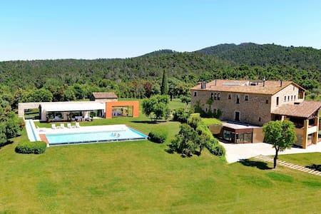 Mas Mateu, best villa in Spain - Sant Climent de Peralta - Rumah