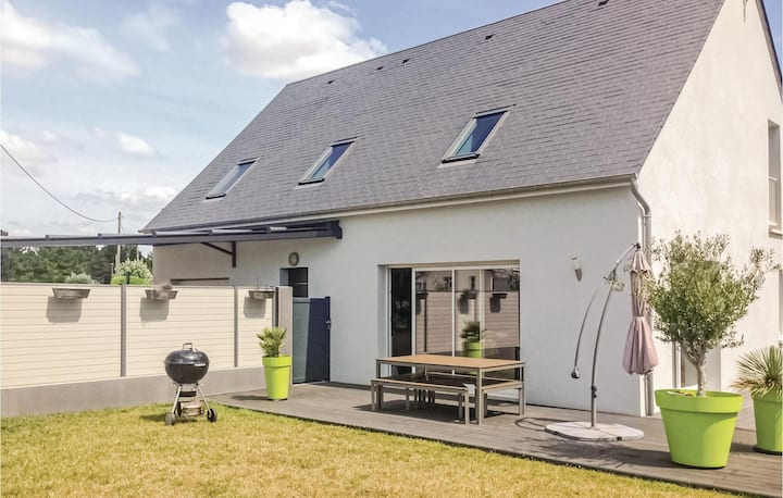 Nice home in Saint Germain Sur Ay with WiFi and 3 Bedrooms