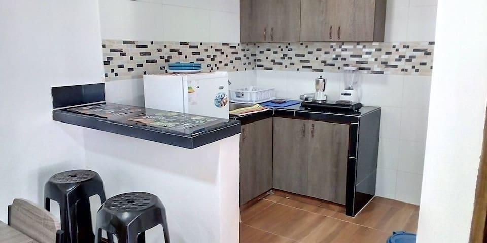 Apartamento #2 Completo/Precio Incluye 2 Personas