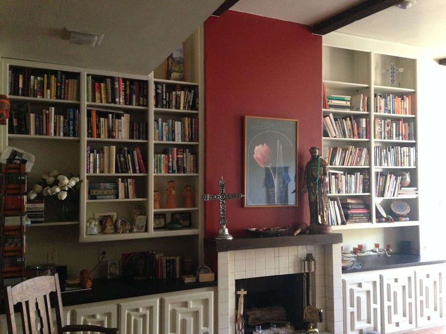 An English major's library for your sitting room