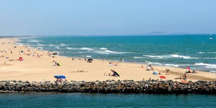 bonne détente a la plage