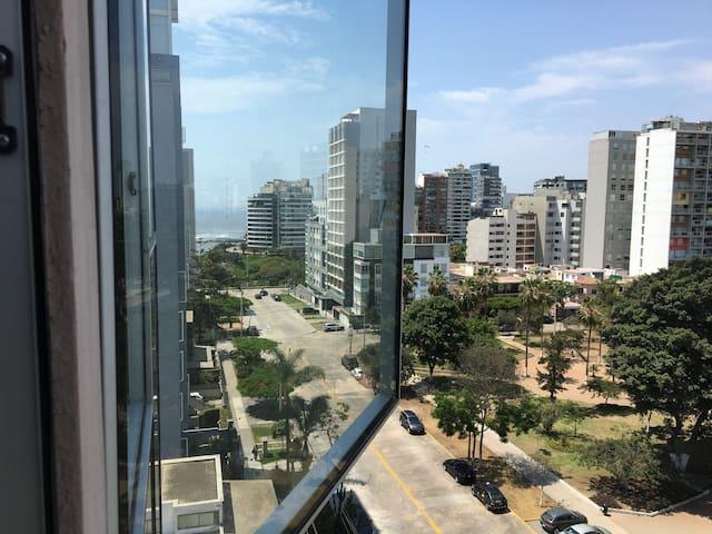 New apartment, excellent location, unbeatable view - Distrito de Lima - Leilighet