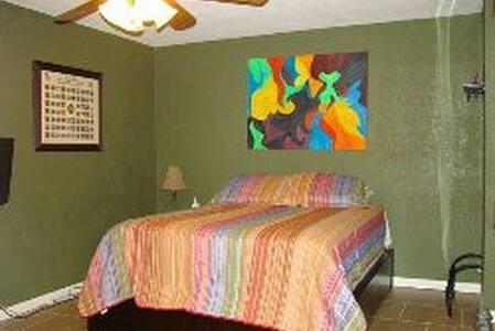 Downstairs Mingo Island room - Corpus Christi - 连栋住宅