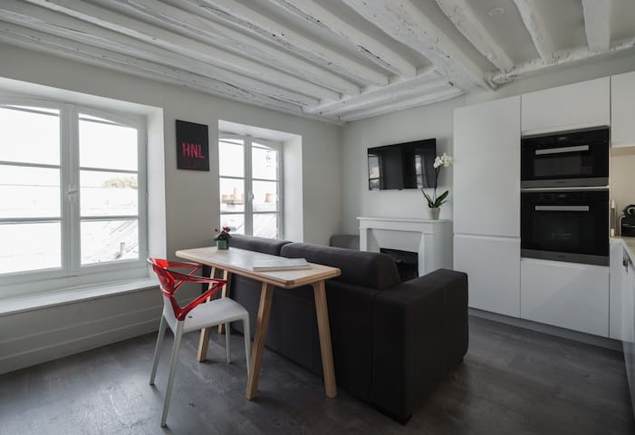 Luxury, Cosy & Quiet 1 BR Apt, St-Germain-des-Prés - Paris - Daire