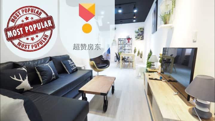 Fashion 101  house/2big room/Mrt 5min❤月