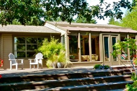 Garden Retreat on Whidbey Island