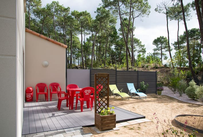 Maison dans les pins proche plage. - Saint-Jean-de-Monts - 獨棟