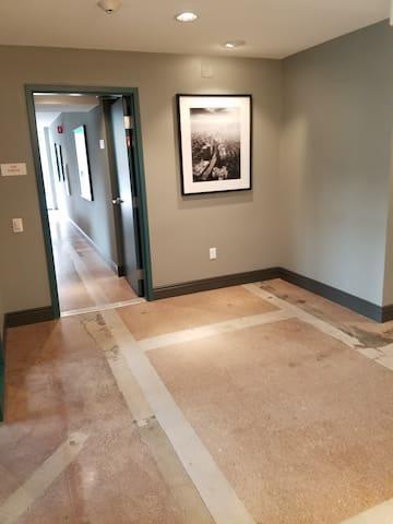 Hallway in the Lobby