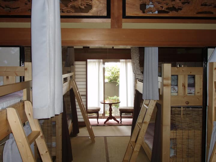 1room reserved 1部屋貸し切り(2~4人まで) 2~4persons