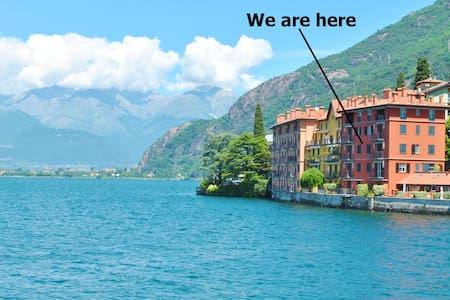 Blue Starlake Residence frontlake - private garage - Bellano - Apartament