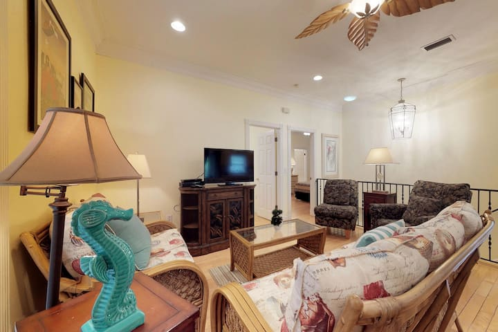 Mediterranean-style home w/ private pool, jetted tub, and easy beach access!