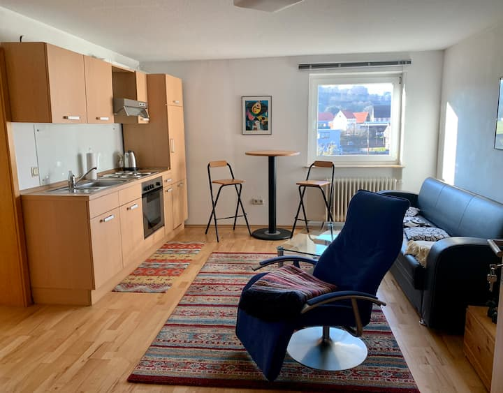 Appartement in ruhiger Ortsrandlage