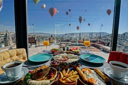 Arinna Cappadocia-Deluxe Room/Jacuzzi-view101-106