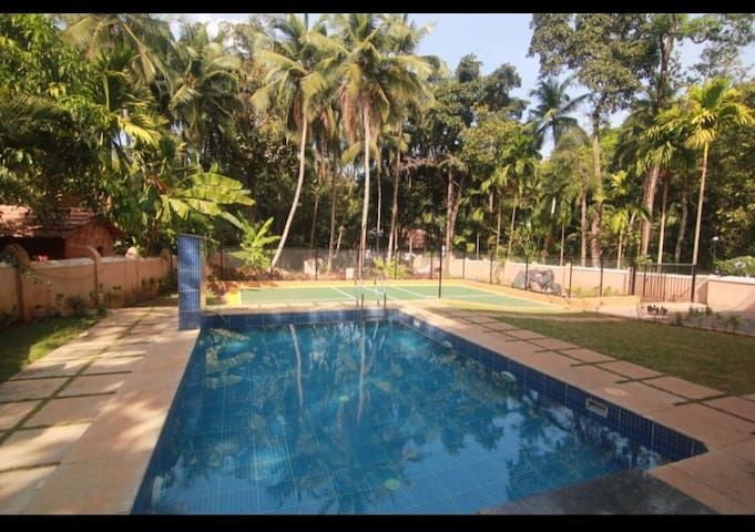Cozy 1BHK amidst greenery in Assagao valley