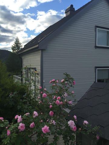 Koselig hus sentralt i Notodden leies ut i BLUESEN - Notodden