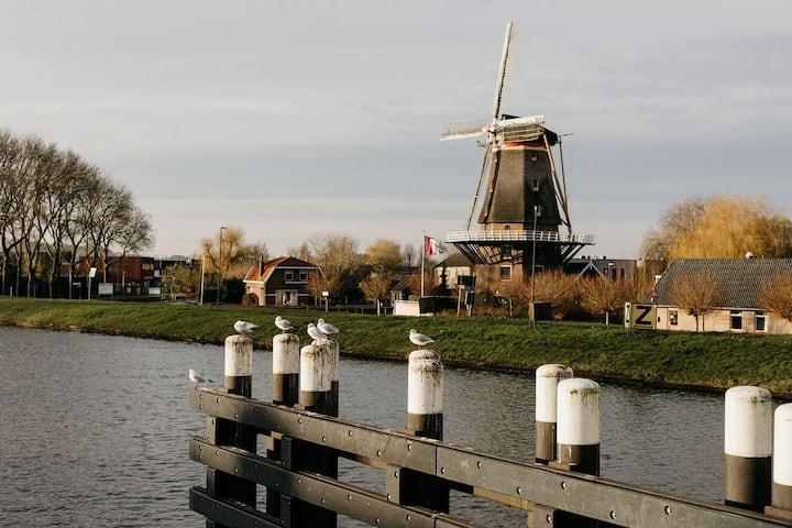 Slapen in de molen, Dutch Design kamer
