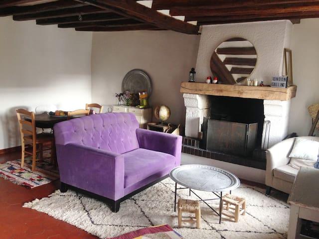 Appartement  de charme, vallée d'Eure - Ménilles - Apartamento