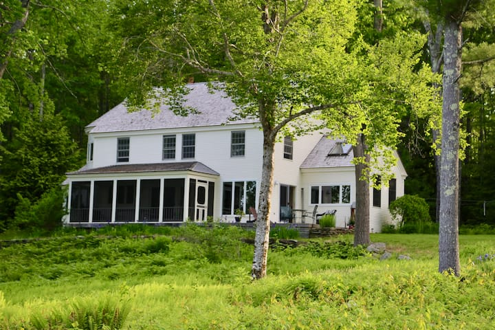 Megunticook Lake house
