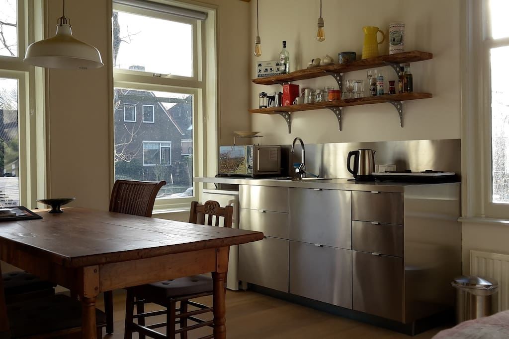 View on the kitchen.