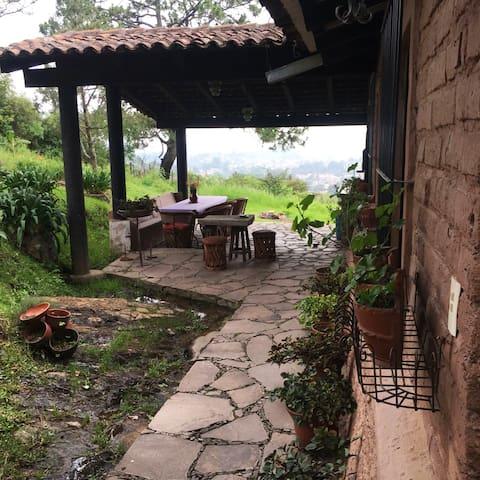 Hermosa Cabaña en Tapalpa con Excelente Vista