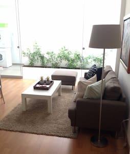 Miraflores Apart # 100 King Bed A/C - Lima - Apartment