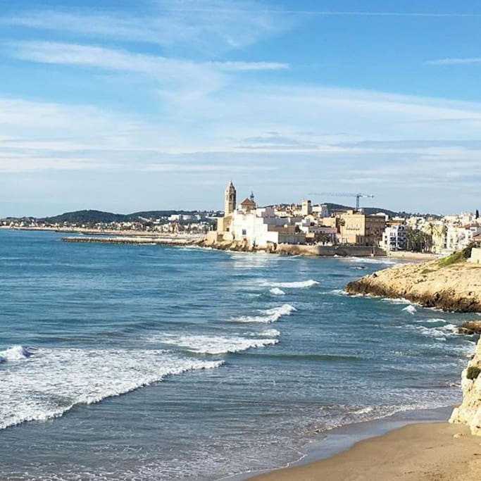 Sitges. A house with a view.