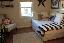 Second bedroom with full-size bed