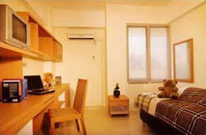 Studio Room Single Bed- Bersih, aman & nyaman