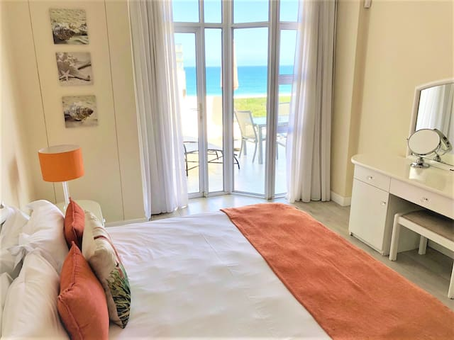 Main Bedroom with King-Size Extra length  Stunning Sea Views