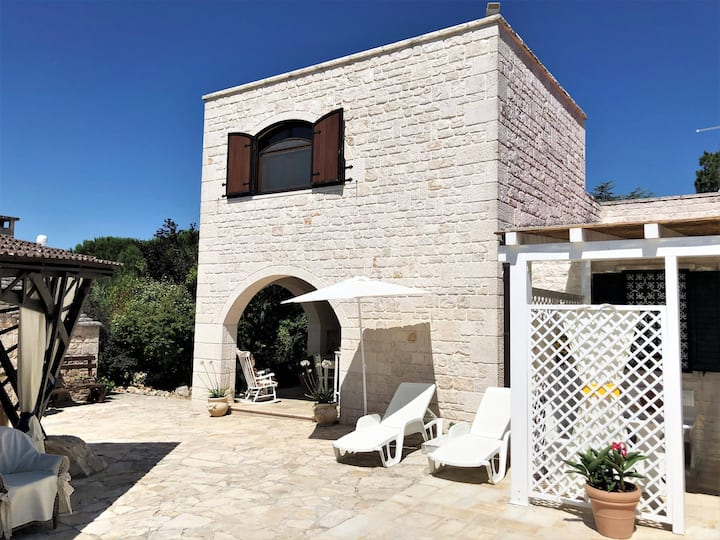 Villa Karmel, ampia zona esterna, panorama e giardino, WiFi, A/C